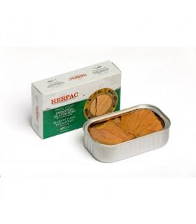Tarantelo de atún rojo en aceite de oliva Herpac 125 gr
