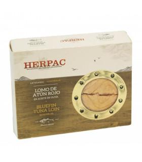 Lomo de atún rojo en aceite de oliva Herpac 245 gr