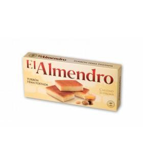 Gerösteter Eigelb Turrón El Almendro - Turrón de yema tostada