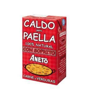 Caldo Paella de Carne Brühe für Paella mit Fleisch