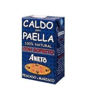 Caldo Paella de Pescado Brüe für Paella mit Fisch