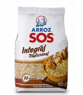 Brauner Reis Arroz Integral SOS 1 Kg