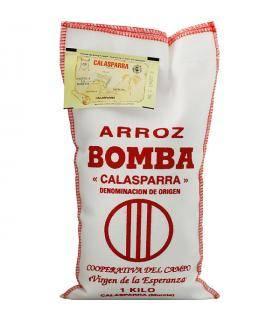 Bomba Reis Arroz Bomba D.O. Calasparra 1kg Virgen de la Esperanza
