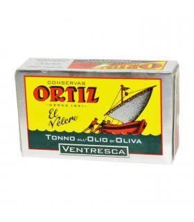 Ventresca Thunfisch in Olivenöl Ventresca de atún en Aceite de Oliva Ortiz 110 gr