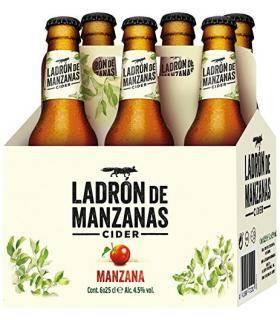 Ladron de Manzanas Cider 6 Flaschen 25cl