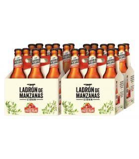 Ladrón de Manzanas Frutos Rojos Cider 24 Flaschen 25clnas Cider 24 Flaschen 25cl