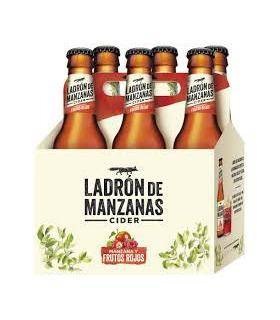 Ladrón de Manzanas Cider Frutos Rojos 6 Flaschen 25cl