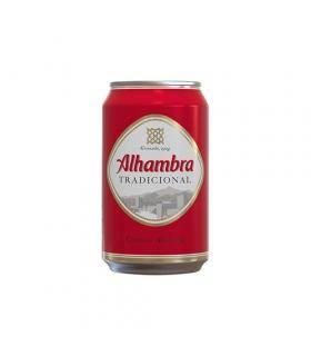 Alhambra Tradicional Bier - 6 Dosen 33 cl