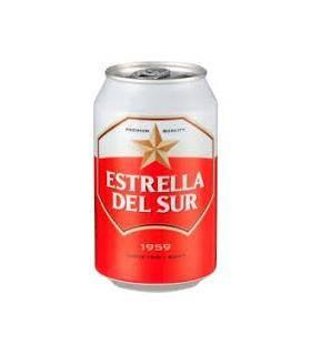 Estrella del Sur Bier - 6 Dosen 33 cl