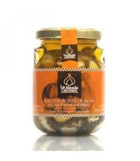 Knoblauch in Olivenöl mit feinen Kräutern La Abuela Carmen 175 g