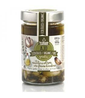 Knoblauch in Olivenöl mit feinen Kräutern Bio La Abuela Carmen 160 g