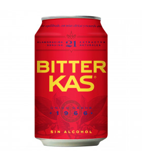 Bitter Kas 8 latas 33 cl