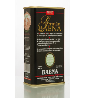 German Baena Unfiltered Extra Virgin Olive Oil 500ml Baena DOP