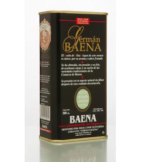 Natives Olivenöl Extra Naturtrüb Germán Baena 500 ml