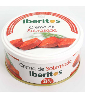 Crema de sobrasada Iberitos 250 gr