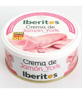 Crema de jamon de york Iberitos 250 gr