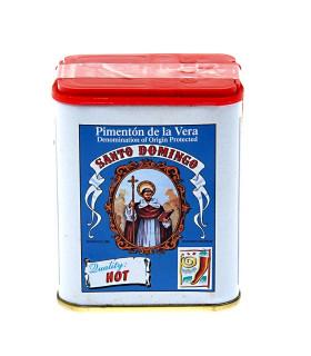 Smoked Paprika Hot Pimenton de la Vera Santo Domingo 75 gr