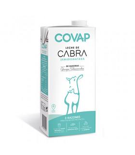 Leche de cabra semidesnatada Covap 1L